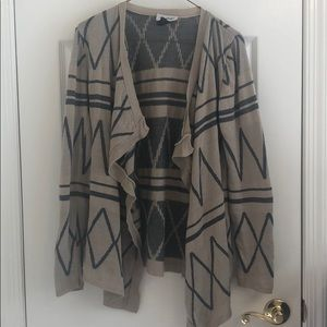 Sweaters - Patterned Cardigan